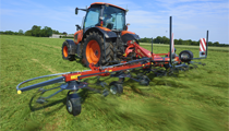 New 7.6m Tedder with Reduced Transport Height and Increased Efficiency